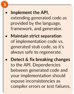 API CodeFlow 3 - Implement